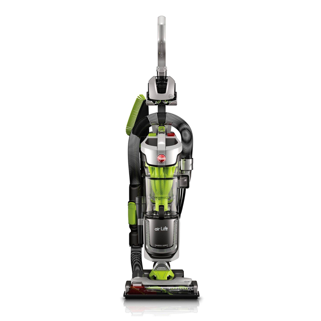 Air Lift Bagless Upright Canister Vacuum - Green