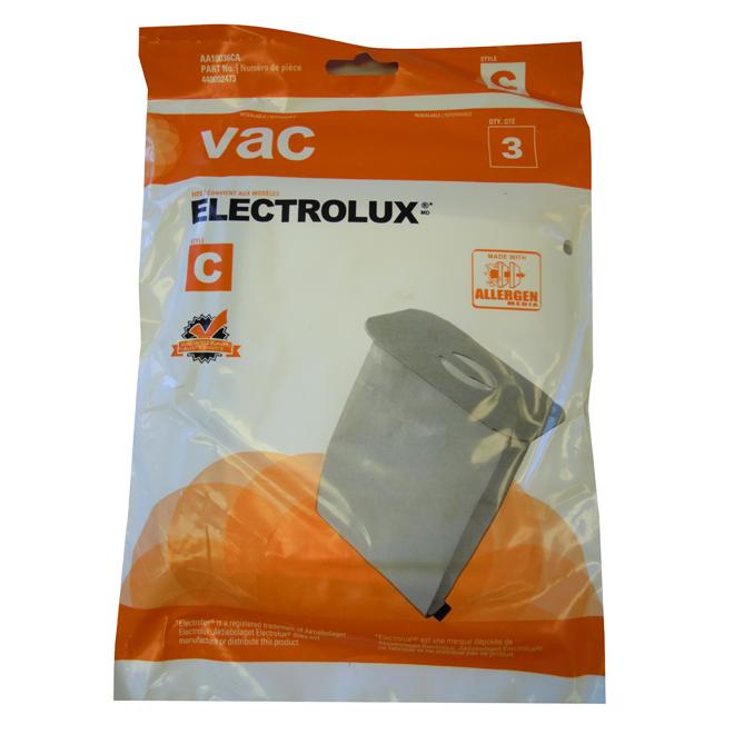 Sac d'aspirateur Electrolux, paquet de 3