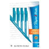 Ballpoint Pens - Write Bros - Medium - Blue - 10 Pack