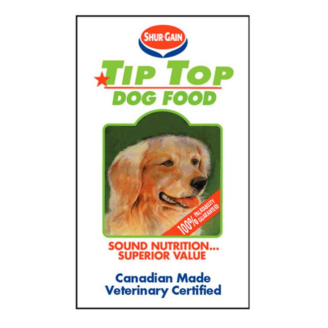 Nourriture pour chien Tip Top
