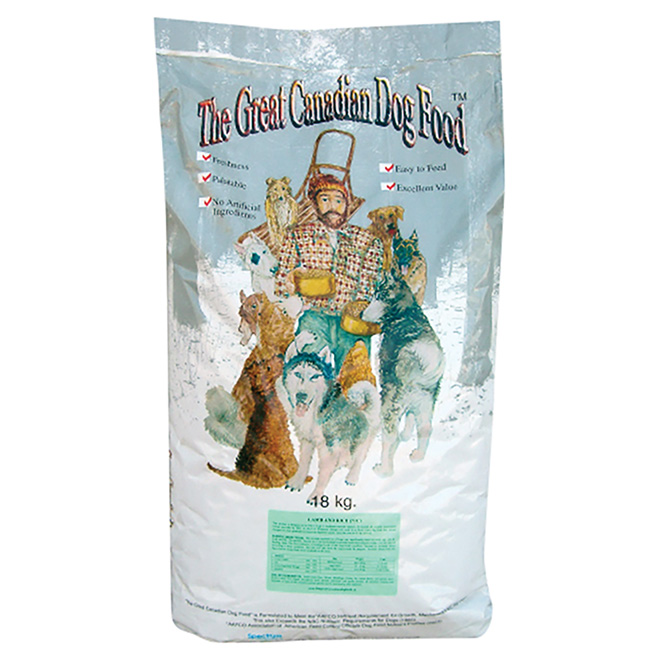 Great Canadian Lamb and Rice Dog Food - 18 kg