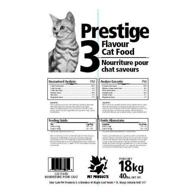Dry Cat Food - 3 Flavours - 16kg