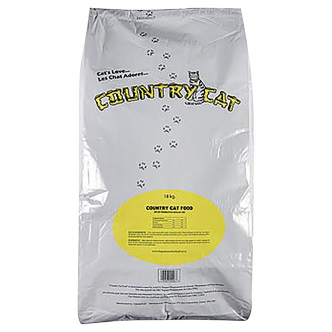 Nourriture sèche pour chat, 18 kg