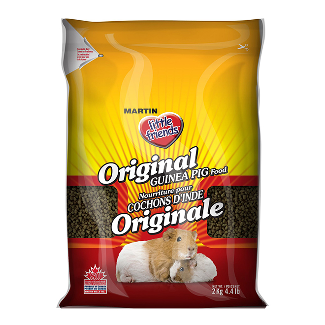 Nourriture pour cochon d'inde classique, 2 kg