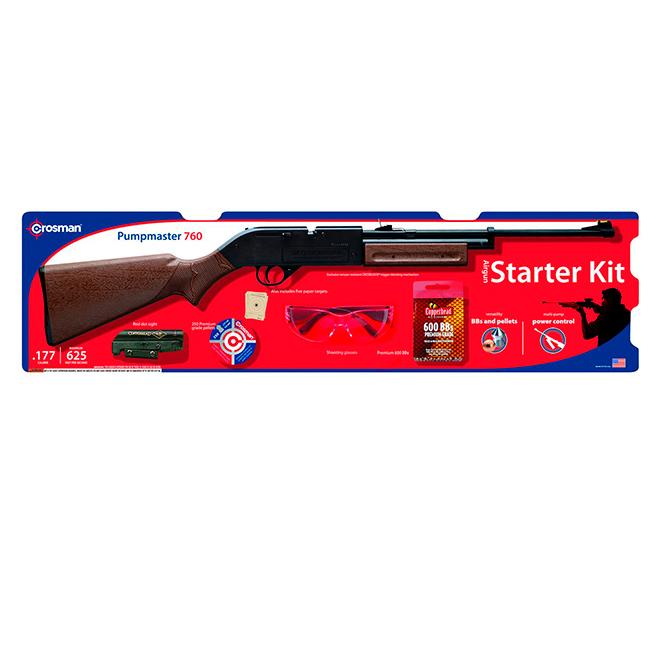 Carabine à plomb et à air comprimé, Pumpmaster 760, 5 pièces