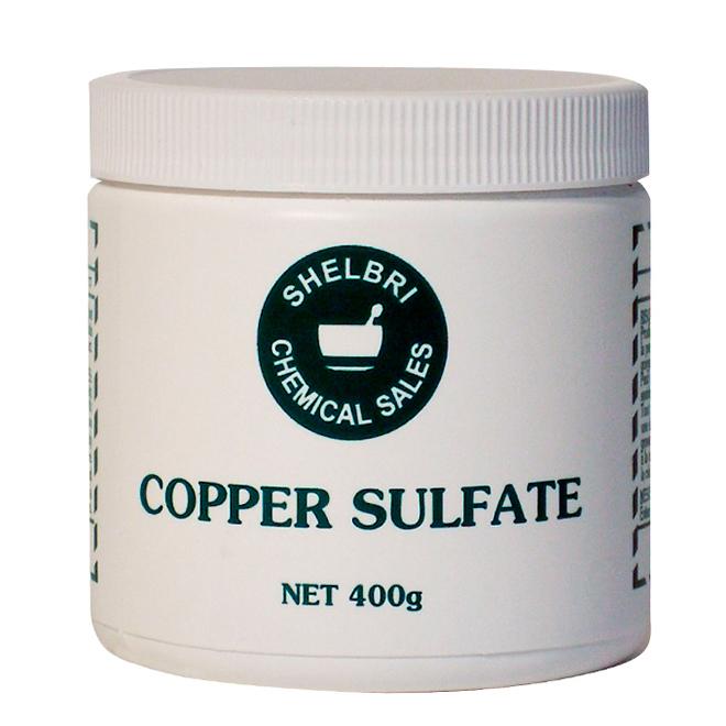 Sulfate de cuivre, 400 gramme