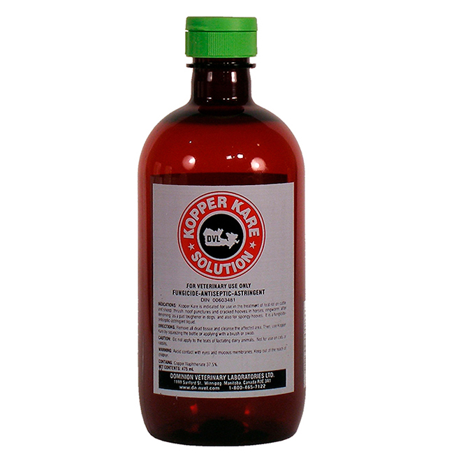 Foot Rot and Ringworm Treatment - Kopper Kare - 475 mL