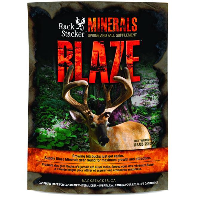 Minéraux pour chevreuils, Blaze Mineral, 5 lb