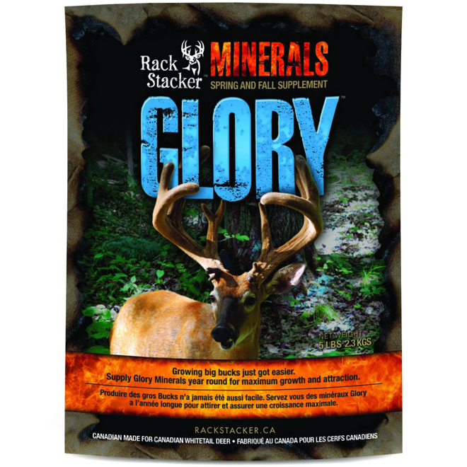 Deer Mineral Feed - Glory Mineral - 5 lb