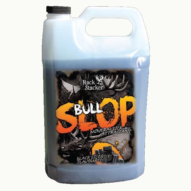 Appât pour orignal et élan, Bull Slop, réglisse, 4 L