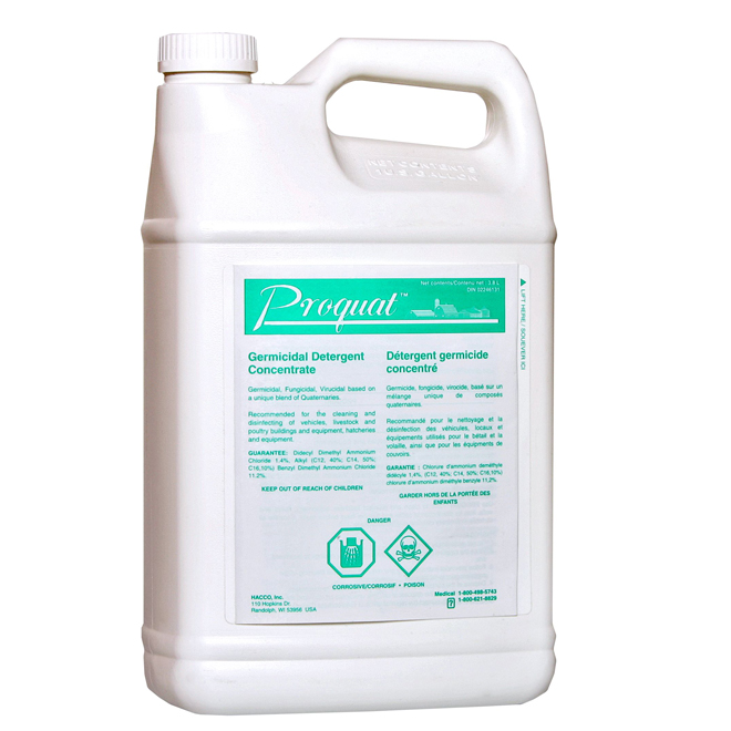 Disinfectant - Proquat Germicidal Concentrate - 3.8 L