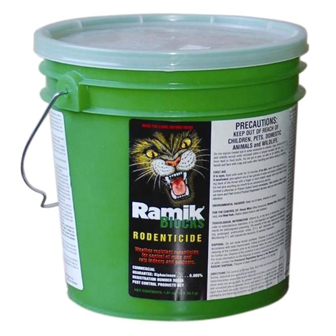 Ramik Rodenticide - Ramik Green Rodenticide - 28.3 g - 64 Bars HC-116335