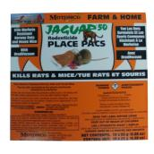 Rodenticide - Jaguar Place - 25 g - 10-Pack
