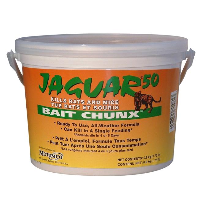Rodenticide - Jaguar Place Chunx - 1.7 lb