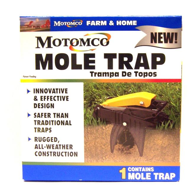 Heavy-Duty Dual-Spring Mole Trap