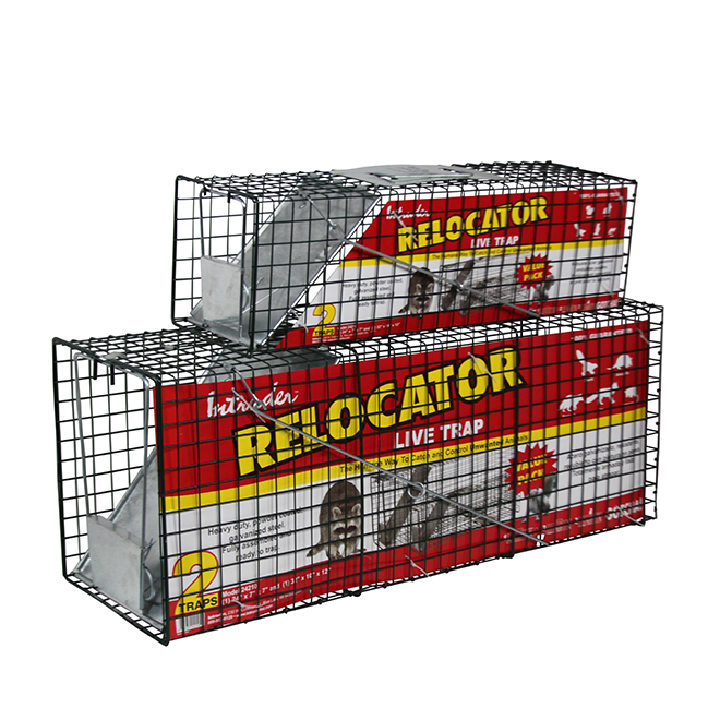 Live Trap Cage - Raccoon/Rabbit Live Traps - 2 Pack Combo
