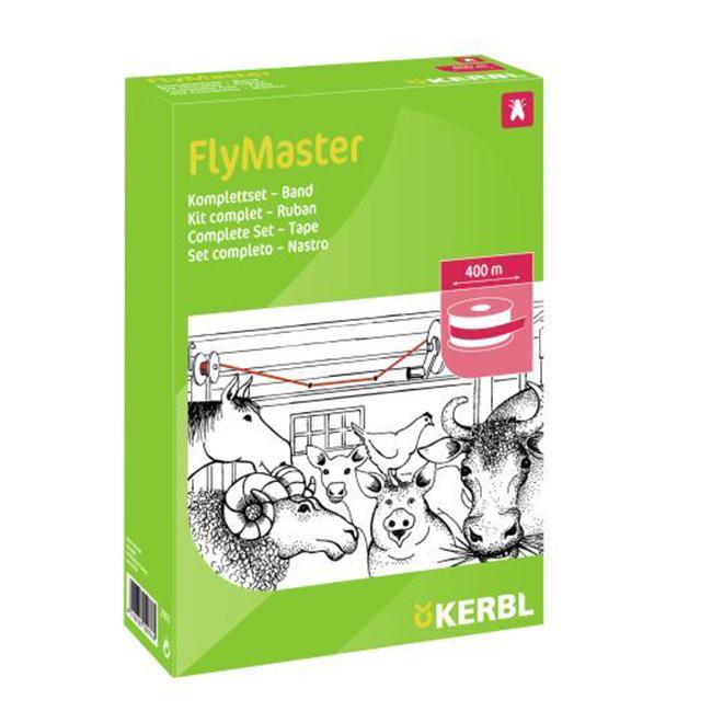 Piège à mouches, trousse de feuilles Flymaster, 400 m