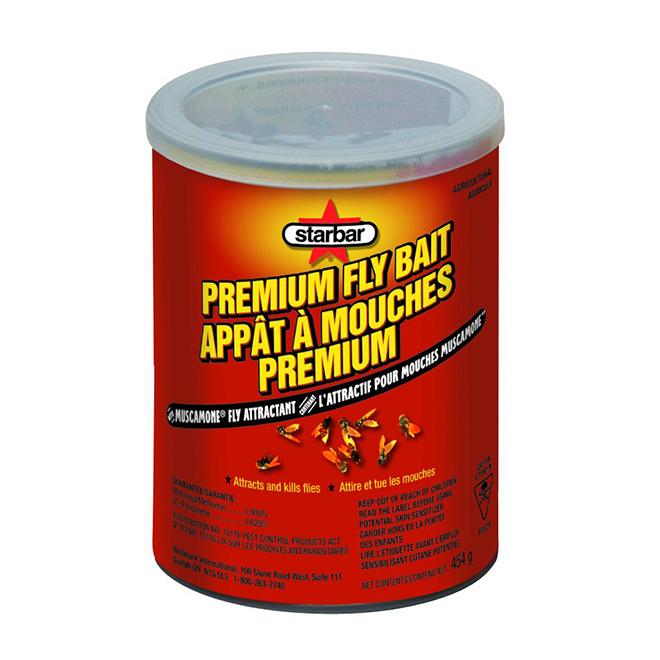 Appât à mouches, qualité supérieure, 454 g