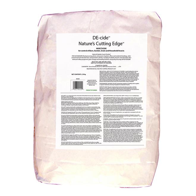 Poudre insecticide non-toxique, 20 kg