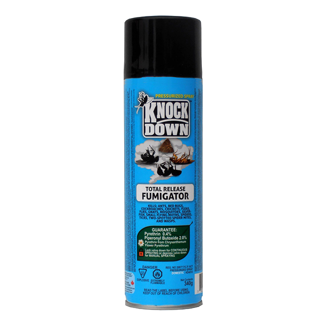 Insecticide Total Release Fumigator, Knock Down, 340 g
