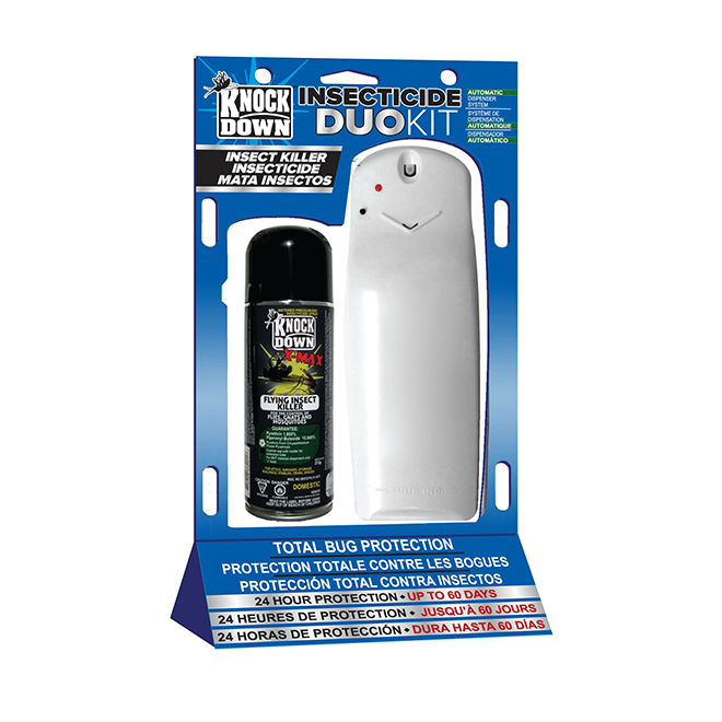 Trousse de distribution d'insecticide Duo, Knock Down, 212 g