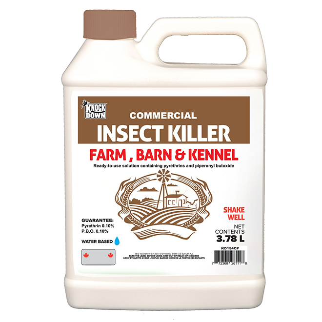 Insecticide pour granges Pro 154 Knock Down, 3,78 L