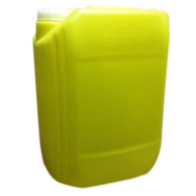 Récipient de chlore, jaune, 20 L