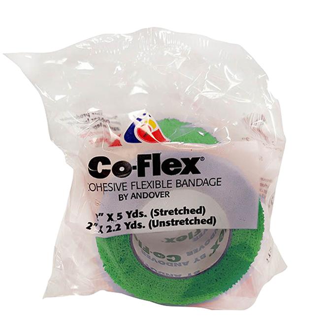 """Pansement pour cheval Co-Flex, vert, 2"""" x 180"""""""