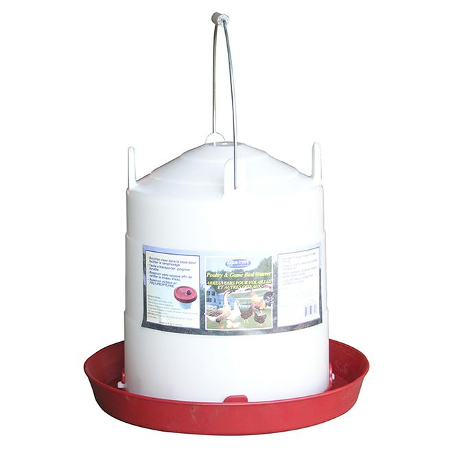 Poultry Fountain - Plastic - 3 Gallon
