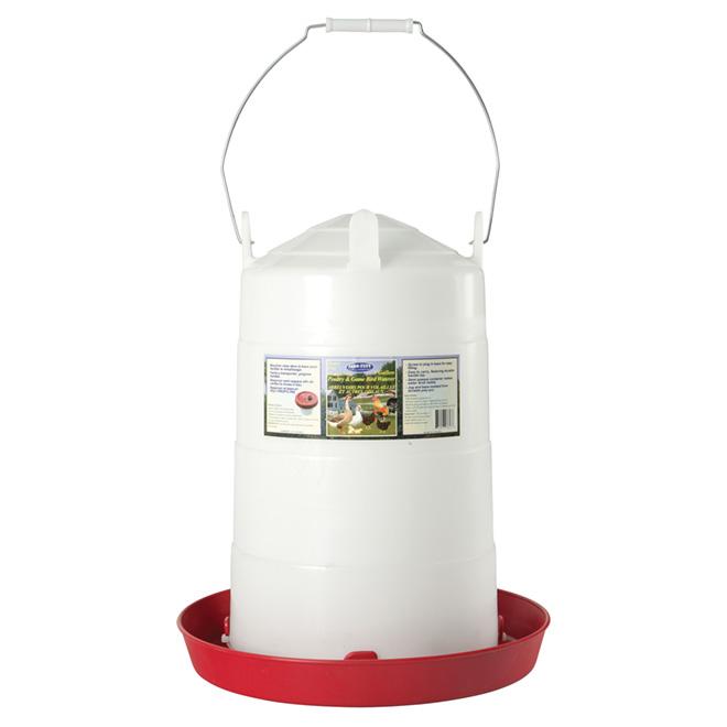 Poultry Fountain - Plastic - 5 Gallon