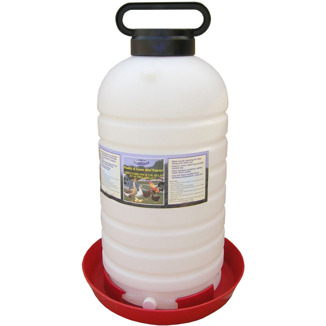 Poultry Fountain with Handle - 7 Gallon