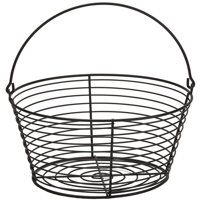 "Egg Basket - Coated Wire - Large - 13 3/8"" x 13"" x 6 7/8"""
