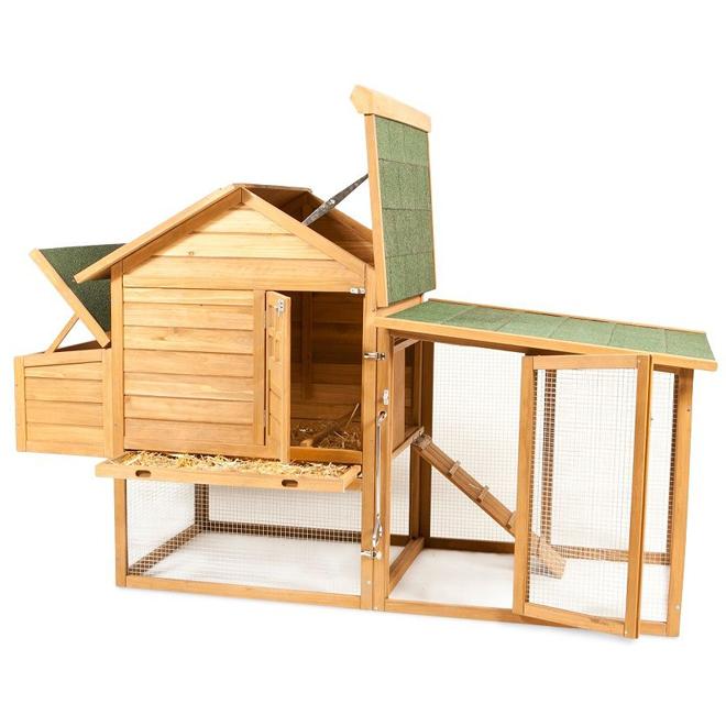 Chicken Coop - Peak Roof - 4 Chicken Capacity