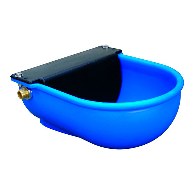 Cattle/Horse Waterer Float Bowl - Poly - 6 L/Min - Blue