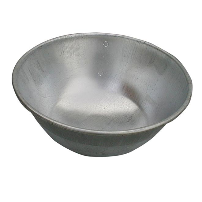 Galvanized Water Bowl
