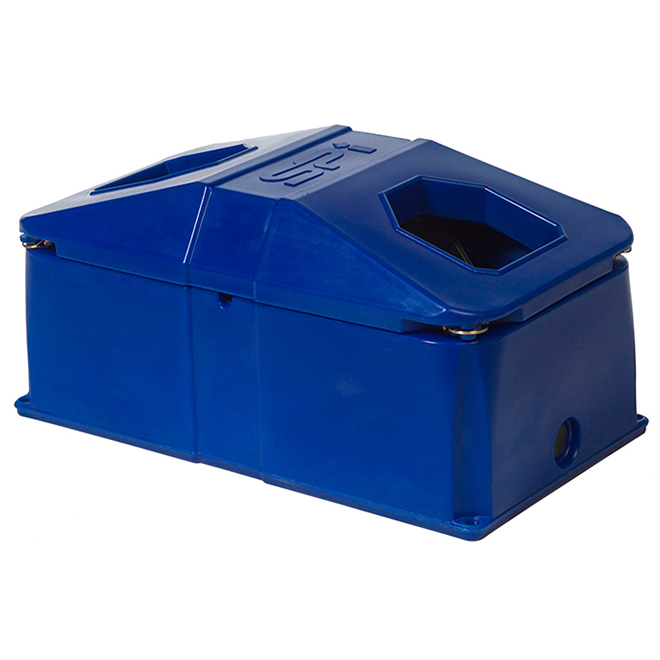 Energy-Free Waterer Bowl - 2 Hole - Poly - 83 L Capacity