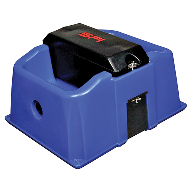 Electric Waterer Bowl - 2 Hole - 500 W - 19 L Capacity