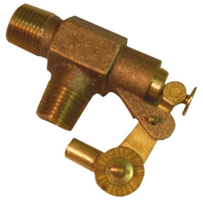 Brass Waterer Valve - 1/2''