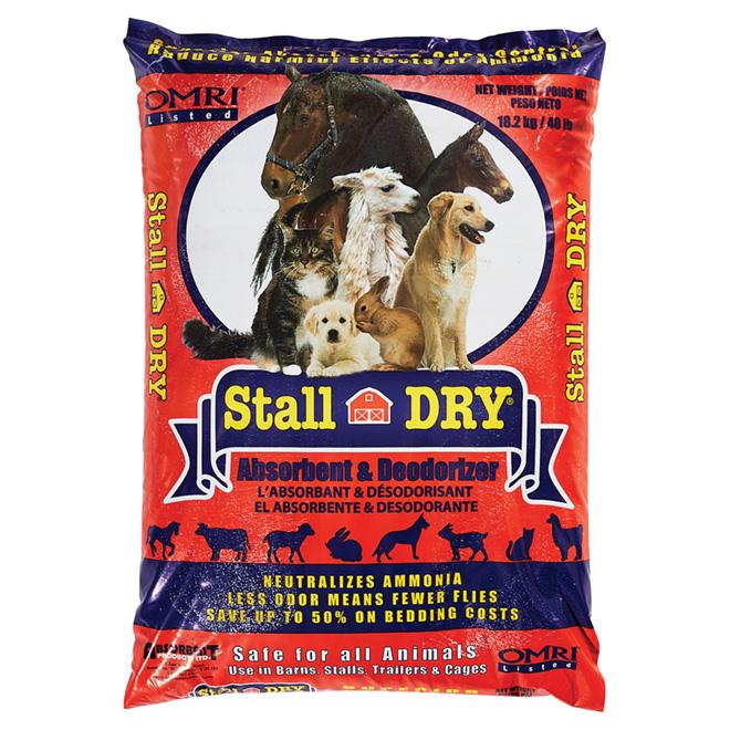 Bedding Freshener - Stall Dry Diatomaceous Earth - 18 kg