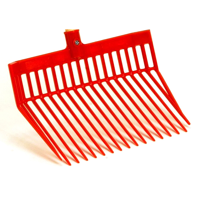 "Stall Fork Head - DuraFork Head - 13 1/8"" x 15 1/8"" - Red"