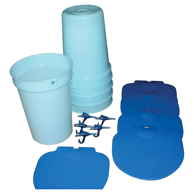 Trousse de démarrage pour collecte d'eau d'érable, 15 pièces
