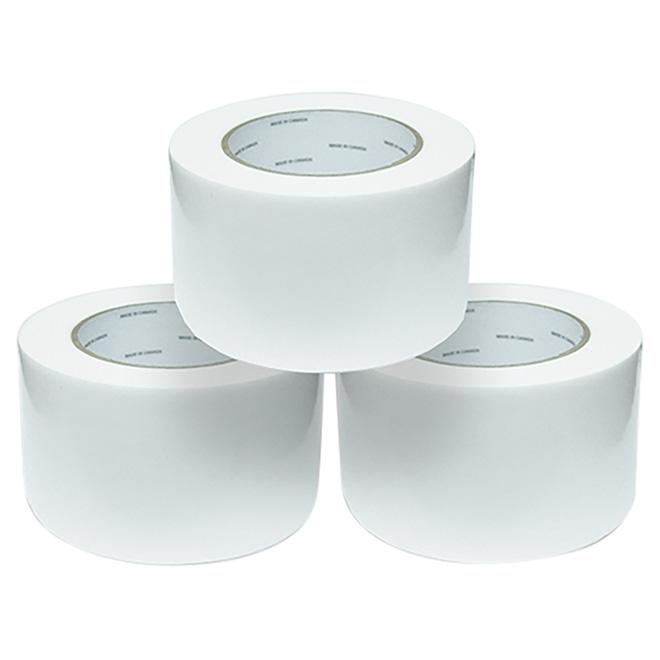 """Ruban pour pellicule de balle de foin, blanc, 3"""" x 100'"""