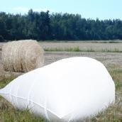 "Bale Bags - 48"" Capacity - White - 88"" x 120"" - 20 Box"