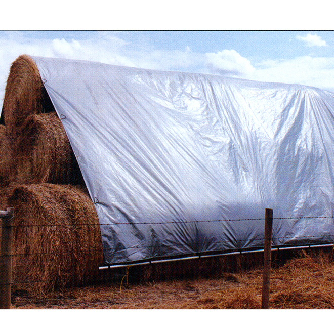 Bale Stack Cover - 25' x 33'