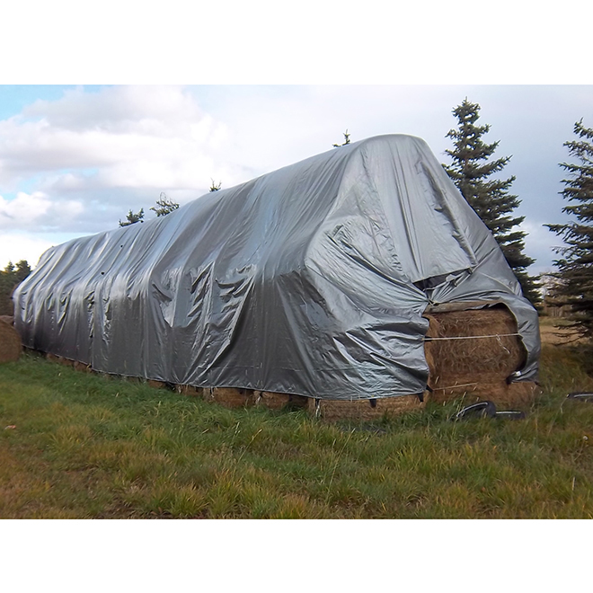 Bale Stack Cover - 28' x 48'