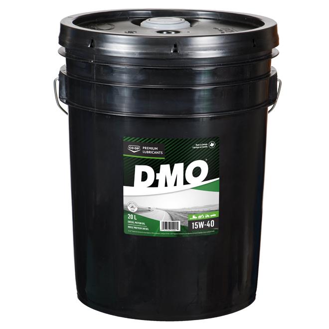 Huile pour moteur diésel, D-MO, 15W-40, 20 L