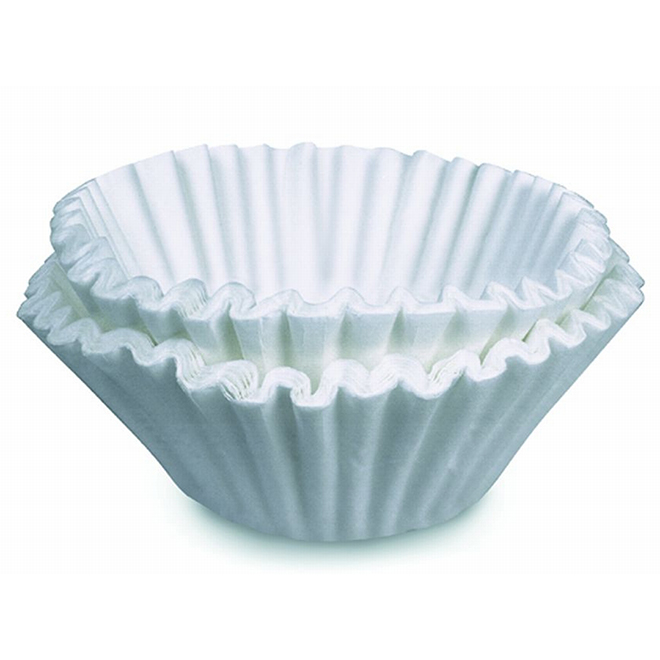 Bunn Basket Coffee Filter - White -100-Pack