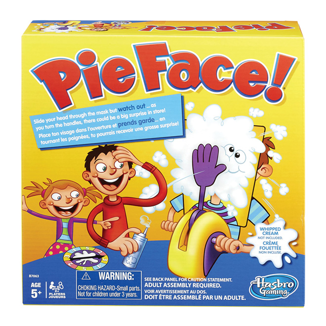 Jeu Pie Face