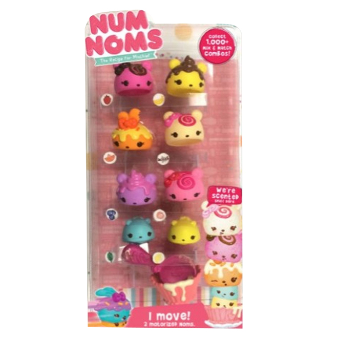 Num Noms Scented Collectible Figures - Series 2 - Ages 3+