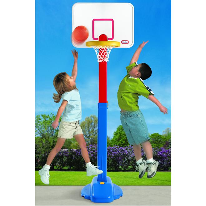 Basketball Set - Adjust 'n Jam - Ages 3+
